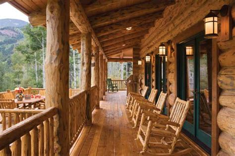 love this porch log cabin lodge pinterest altitude adjustment a handcrafted log home in colorado