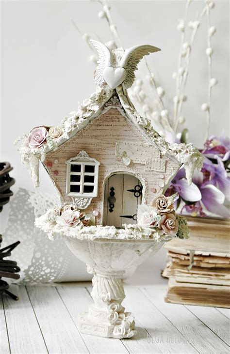 17 best ideas about shabby chic birdhouse on pinterest birdhouses bird houses painted and