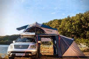 road trip roof top tent by iker hiconsumption