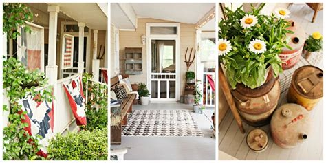 affordable front porch decorating ideas country porch