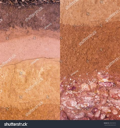 underground soil layers powerpoint template backgrounds layer soil underground stock photo 225372910 shutterstock