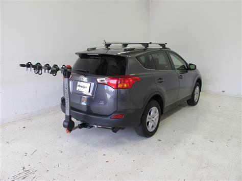 Toyota Rav4 Hitch 2015 Toyota Rav4 Yakima Ridgeback 4 Bike Rack 1 1 4 Quot And