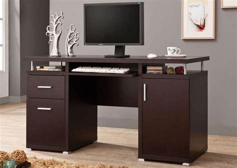 cappuccino computer desk atlantic bedding and furniture cappuccino computer desk