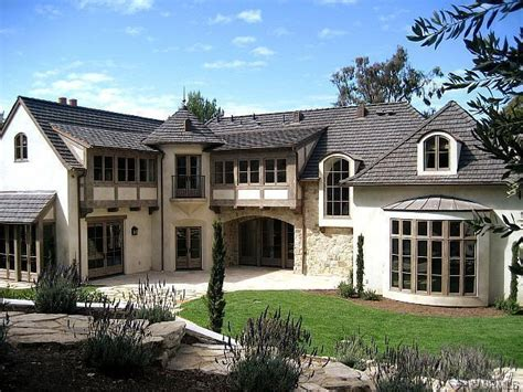 Country French Style Homes | the homes of palos verdes french country in rolling hills