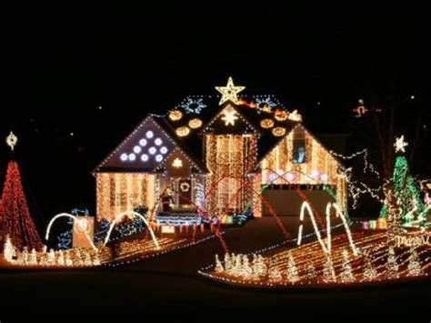 find christmas lights displays in cartersville bartow and