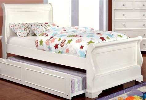 full sleigh bed mullan white full sleigh bed from furniture of america