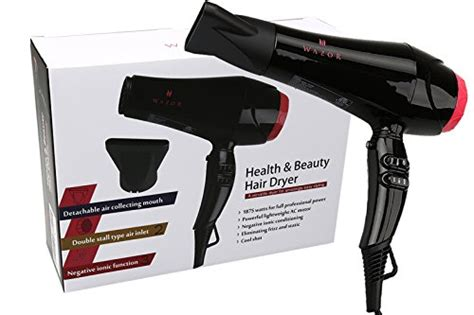 Hair Dryer Cool Button Stuck wazor 1875w ionic ceramic dryer with cool shut button