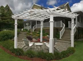 Vinyl Pergola by Vinyl Pergola Ideas Pdf Woodworking