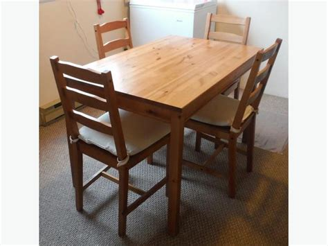 Jokkmokk Table ikea jokkmokk table and 4 chairs with cushions city
