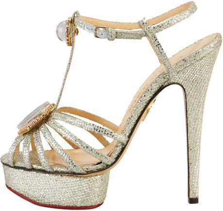 Guess Charlote Silver olympia leading glitter platform sandal
