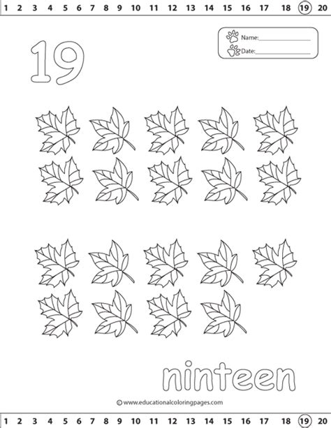 coloring page number 19 free coloring pages of tracing number 15
