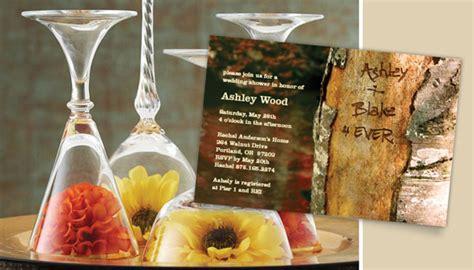 fall bridal shower centerpieces bridal shower invitationsbridal shower invitations