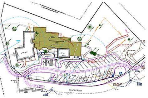 job site layout plan connecticut ct parking lot layout design howland