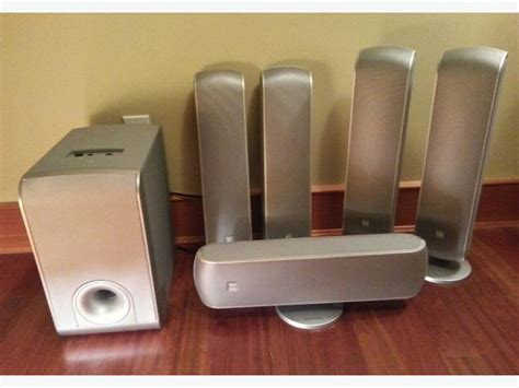 bowers wilkins home theatre system 5xvm1 sub as1 oak