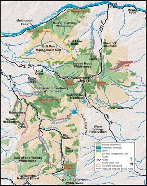 map of oregon national forests mt national forest maplets