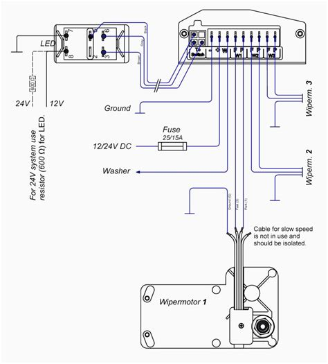 windshield wiper motor wiring diagram ford wiper motor