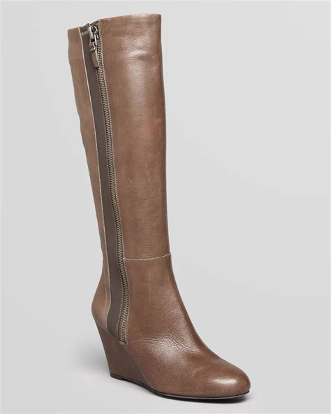 wedge boots lyst via spiga wedge boots felipa in brown