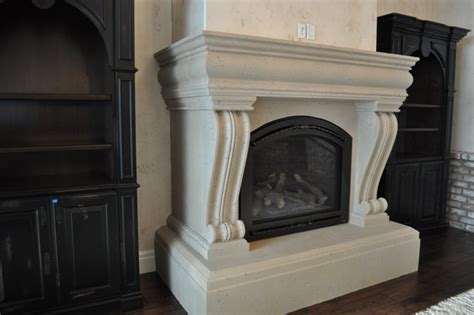 Cast Fireplace Mantels And Surrounds by Custom Cast Fireplace Mantel Surrounds Traditional