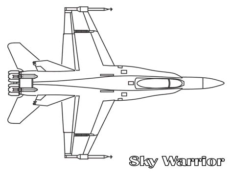 Jet Fighter Plane Coloring Pages Fighter Coloring Pages