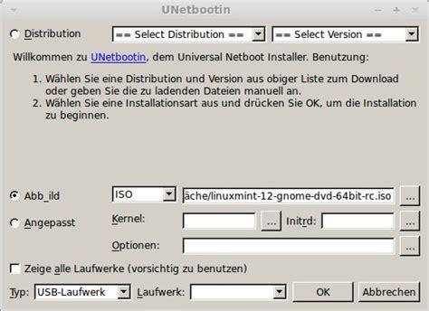 not a com32r image linux mint 12 rc usb fehler vesamenu c32 not a