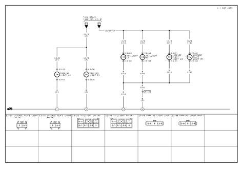 mazda protege light wiring 28 images radiator 97 mazda