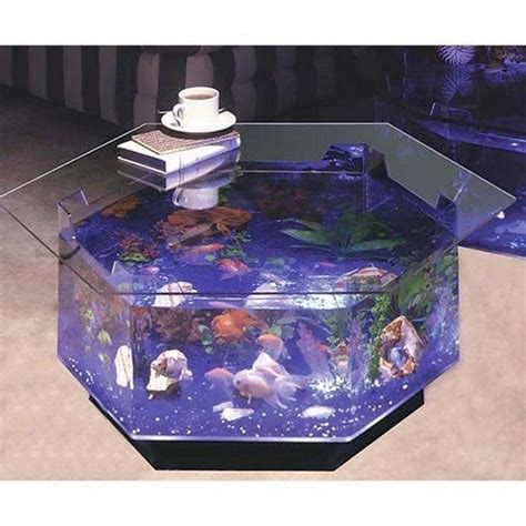 Fish Tank Dining Room Table by Transform The Way Your Home Looks Using A Fish Tank