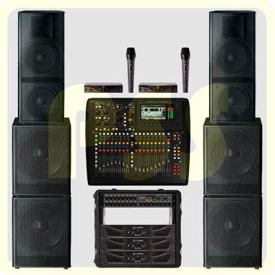 Paket Sound System Outdoor Dan Indoor 15 Inch Aktif Original paket sound system 7600 watt fbt italy paket sound system profesional indonesia