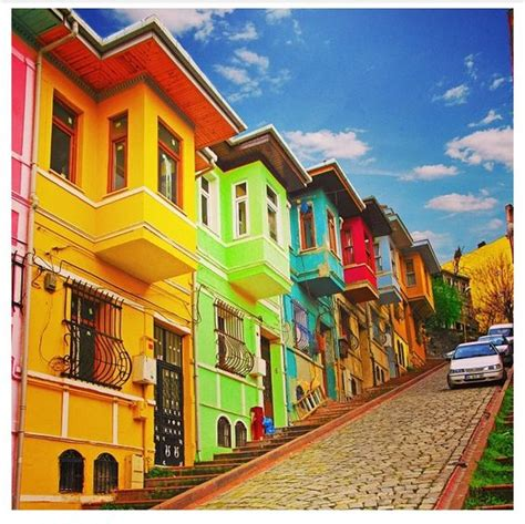 colorful houses colorful houses in istanbul favorite places spaces