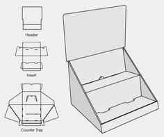 Cardboard Counter Display Template 1000 Images About Display And Packaging On Pinterest Templates Display Easel And Display Stands