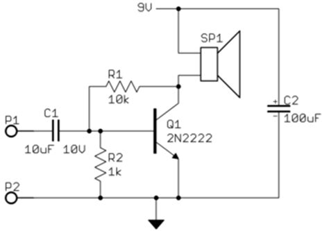 transistor lifier speaker why doesn t my transistor audio lifier work electrical engineering stack exchange