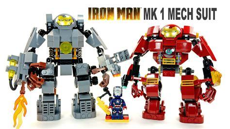 lego iron man mk hulkbuster knockoff mech suit set