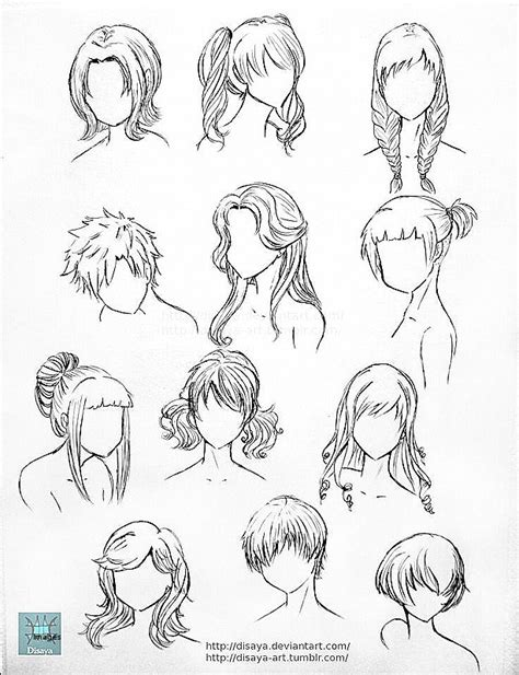 How To Draw Hairstyles by Drawing Of Hairstyles Www Pixshark Images