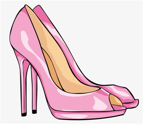 High Heels Pink B pink high heels pink shoe high heeled shoes png image