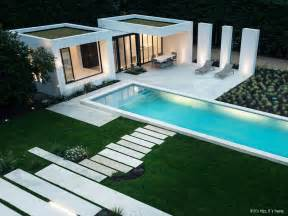 gorgeous modern pool house in basque country by atelier dc styroporpools schwimmbecken apoolco pool wellness outlet