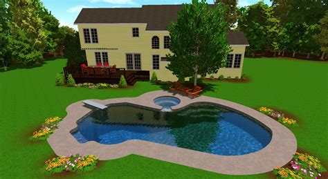 pools and patios designs pool and patio design for south lyon customers az pools