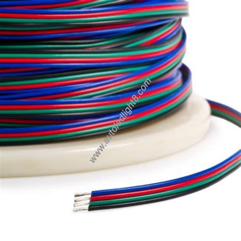 Konektor L Shape 4 Pin 10mm 5050 Untuk Led 4 Pin Rgb Extension Wire Connector Cable Cord For 3528 5050 Rgb Led Light Led