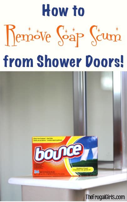 how to clean soap scum from glass shower doors craftionary