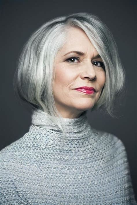 hairstyles for grey hair uk 40 inspiring grey hair styles for women to try in 2017