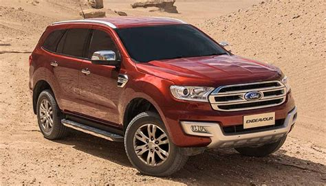 ford endeavour 2018 2018 ford endeavour specs price and release date 2017