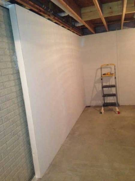 ideas for finishing concrete basement walls the world s catalog of ideas