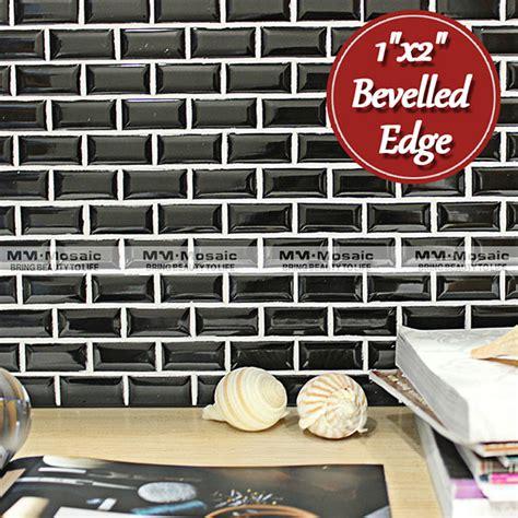 1 X2 Ceramic Tile - 1 quot x2 quot glossy bathroom tile design mosaic tile with