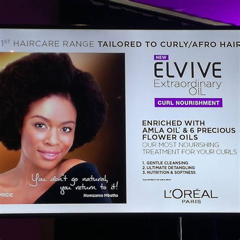 loreal products works african american hair loreal elvive curl nourishment range reveal event