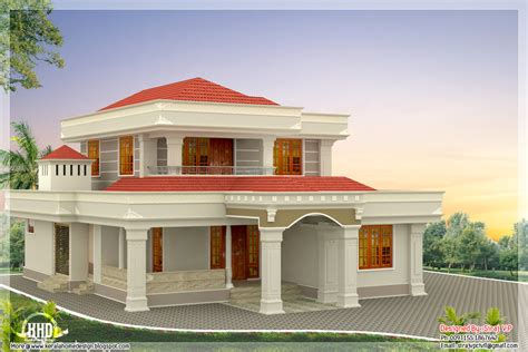 beautiful indian home design feet kerala house house plans