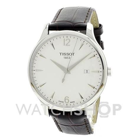 Tissot Tradition T0636101603700 homme tissot tradition montre t0636101603700