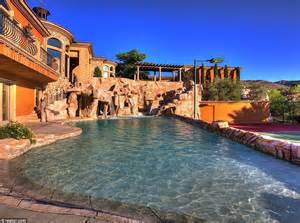 Putting Greens For Backyards Nevada Mansion With Its Own Backyard Water Park Makes A