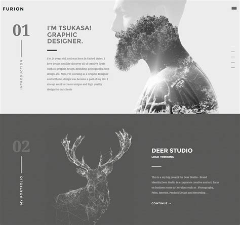 the best for creative in 55 creative portfolio themes best of 2018