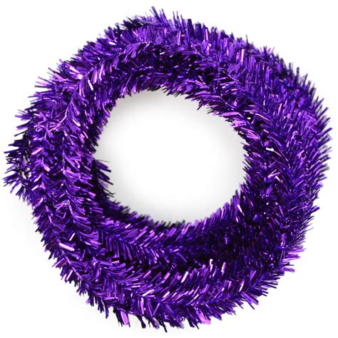 metallic tinsel roping purple 25 feet xg447823