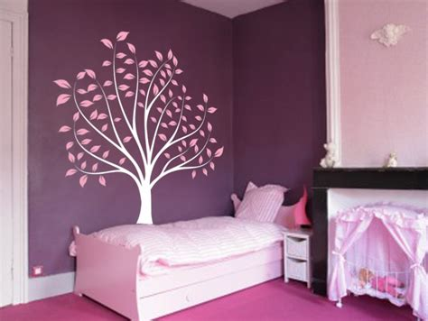 Tree Wall Decor For Nursery Nursery Tree Large Wall Forest Decal Branches And Leaves 1135 Innovativestencils
