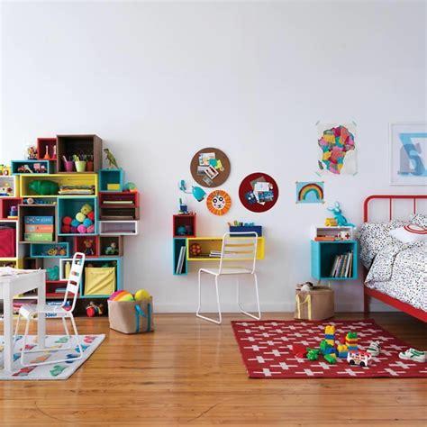 etagere chambre d enfant l 233 tag 232 re cube praticit 233 et style contemporain