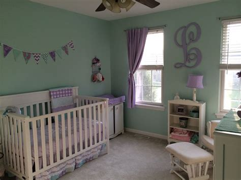 Mint Green Nursery Decor Mint Green And Purple Nursery Search Baby 2 Pinterest Mint Green Nursery And